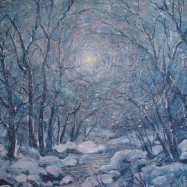 Leonard Holland - Radiant Snow Scene