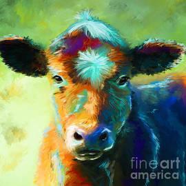 Michelle Wrighton - Rainbow Calf