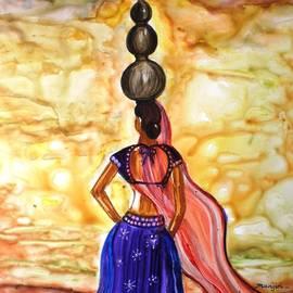 Manjiri Kanvinde - Rajasthani Lady-Allure