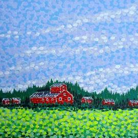 Alan Hogan - Red Barn