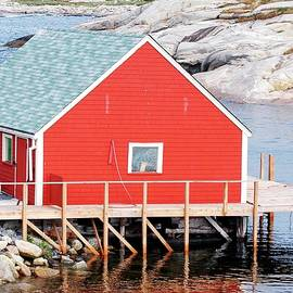 Kathleen Struckle - Red Boathouse