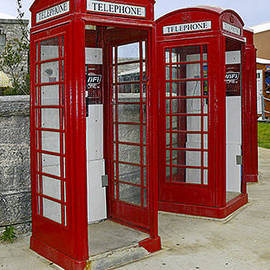 Sally Weigand - Red Phone Booths