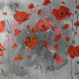 Raymond Doward - Red Poppies
