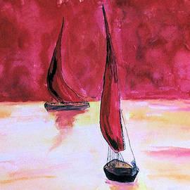 Alethea McKee - Red Sails