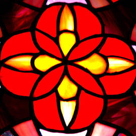 LeeAnn McLaneGoetz McLaneGoetzStudioLLCcom - Red Stained Glass