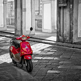 Michael Avory - Red Vespa