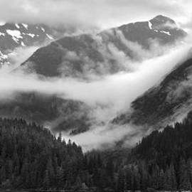 Nathan Mccreery - Rising Mists  Hanging Valley  Tracy Arm