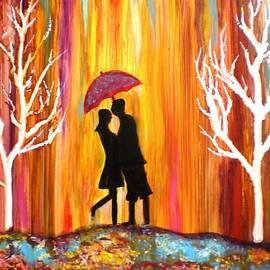 Manjiri Kanvinde - Romance in the rain II