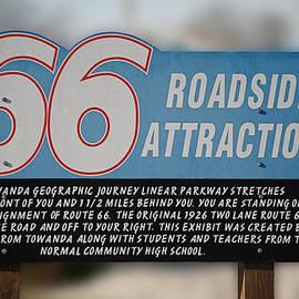 Thomas Woolworth - RT 66 Towanda IL Parkway Signage