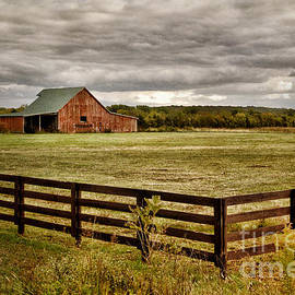 Cheryl Davis - Rural Tennessee Red Barn