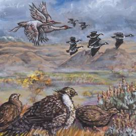 Dawn Senior-Trask - Sage Grouse Watch the Migration