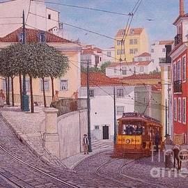 Carlos De Vasconcelos Tavares - Saint Tome Square Lisbon - Largo de S. Tome Lisboa