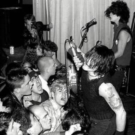 J Fotoman - Samhain Danzig 1986 concert photo no.1