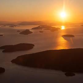 Mike Reid - San Juan Islands Sunset Evening