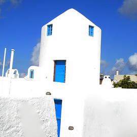 Colette V Hera  Guggenheim  - Santorini beauty  in Santorini Greece
