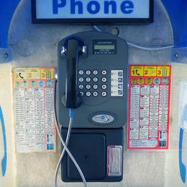 Colette V Hera  Guggenheim  - Santorini Island Greece Telephone box