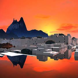 Heinz G Mielke - Santorini Sunrise