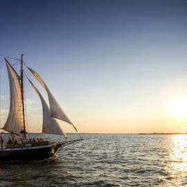 Dustin K Ryan - Schooner Welcome Sunset Charleston SC