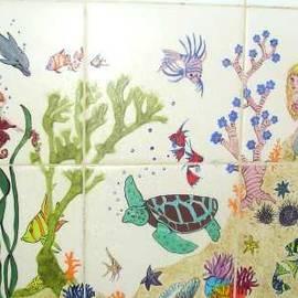 Dy Witt - Sea Life Fantasy Mural