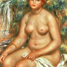 Pierre Auguste Renoir - Seated Bather