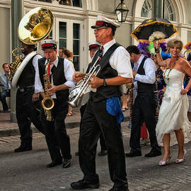 Kathleen K Parker - Second Line Wedding on Bourbon Street New Orleans