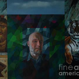 Jukka Nopsanen - Self Portrait with Icons