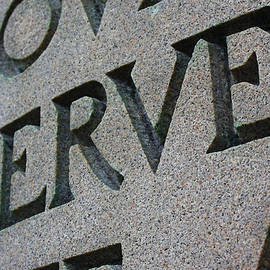 Geoff Strehlow - Serve in Stone