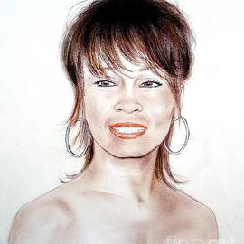 Jim Fitzpatrick - Singing Beauty Whitney Houston