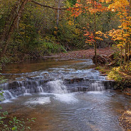 Thomas Young - Siskiwit Falls in the Fall