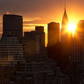 Janet Fikar - Skyline Sunrise
