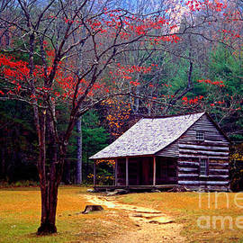 Paul W Faust -  Impressions of Light - Smoky Mtn. Cabin