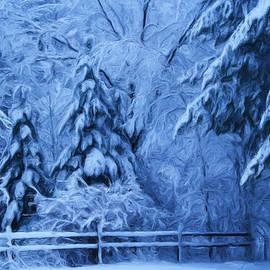 Liz Evensen - Snow Blanket at Twilight
