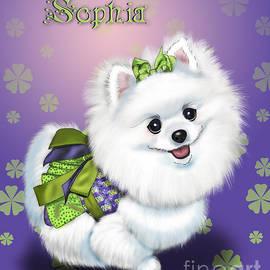 Catia Cho - Sophia Pomeranian Mega Star