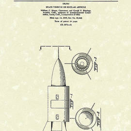 Prior Art Design - Space Vehicle 1960 Patent Art