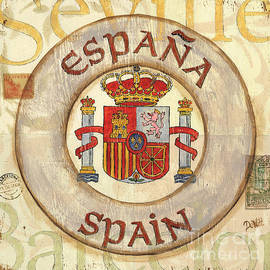 Debbie DeWitt - Spain Coat of Arms