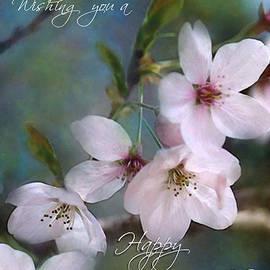 William Martin - Spring Buds Birthday Card