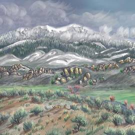 Dawn Senior-Trask - Spring Snow on the Peak