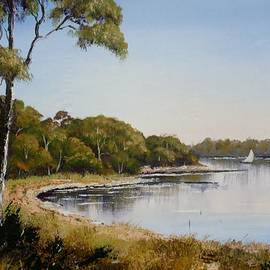 Anne Gardner - St Georges Basin - early morning