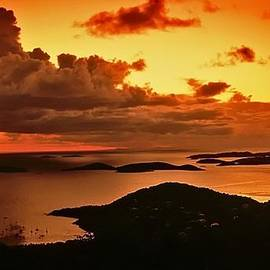 Bill Jonscher - St. John sunset