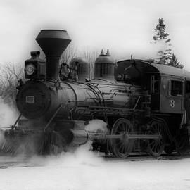 Vickie Emms - Steam Engine #3 - Prairie Dog Central Railway