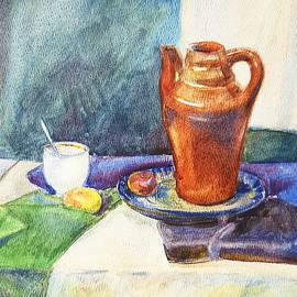 Irina Sztukowski - Still Life With Cup and Coffeepot