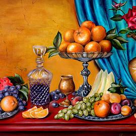 Roxana Paul - Still life with fruit