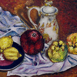 Vladimir Kezerashvili - Still Life with  lemons and quinces