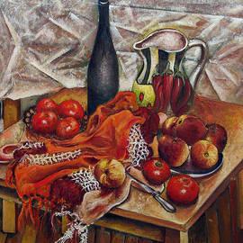 Vladimir Kezerashvili - Still LIfe with Peaches and Tomatoes