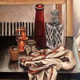 Vladimir Kezerashvili - Still life with pottery