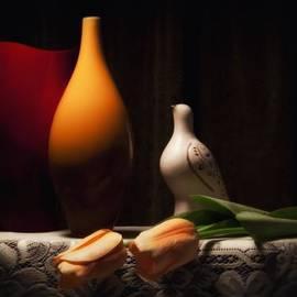 Tom Mc Nemar - Still Life with Vases and Tulips