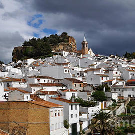 Mary Machare - Storm Clouds Over Ardales Spain