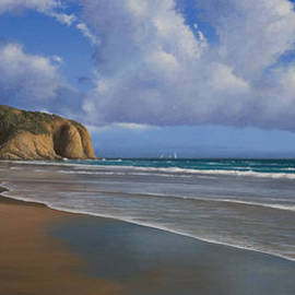 Cliff Wassmann - Strands Beach Dana Point Painting
