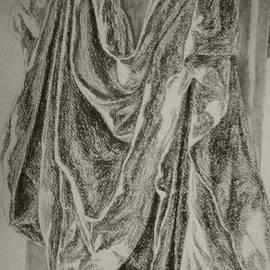Nadja Pilitsyna - Study of draped fabric