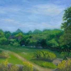 Paula Emery - Summer Afternoon at Ashlawn Farm